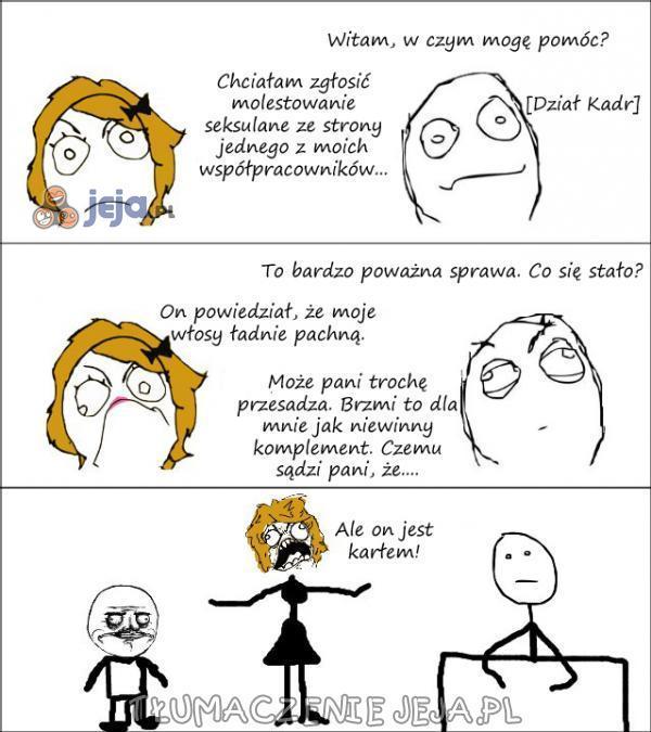 Molestowanie seksualne