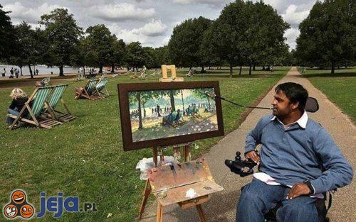Talent mimo niepełnosprawności