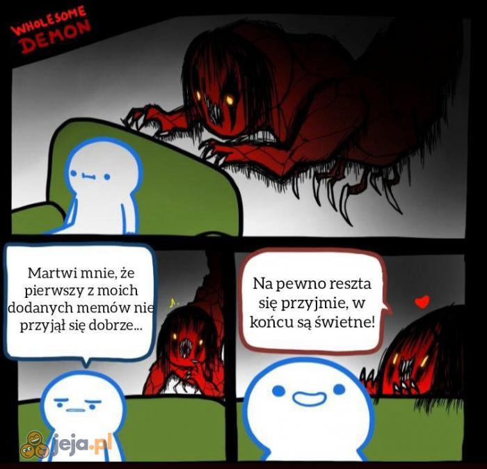 Bardzo miły demon