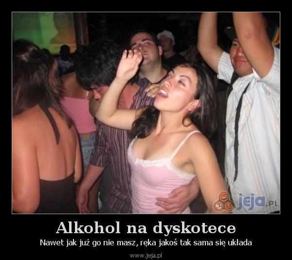 Alkohol na dyskotece
