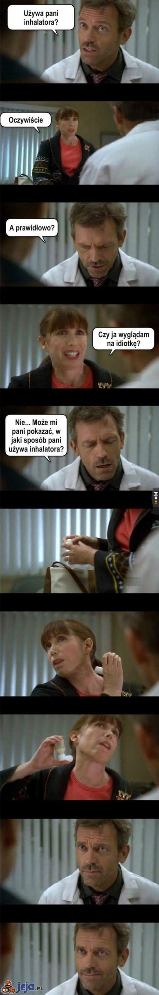 Poprawne użycie inhalatora
