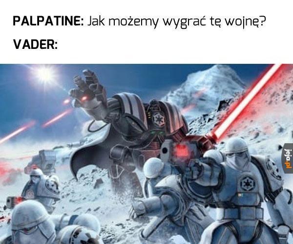 Vader ma zawsze pomysły