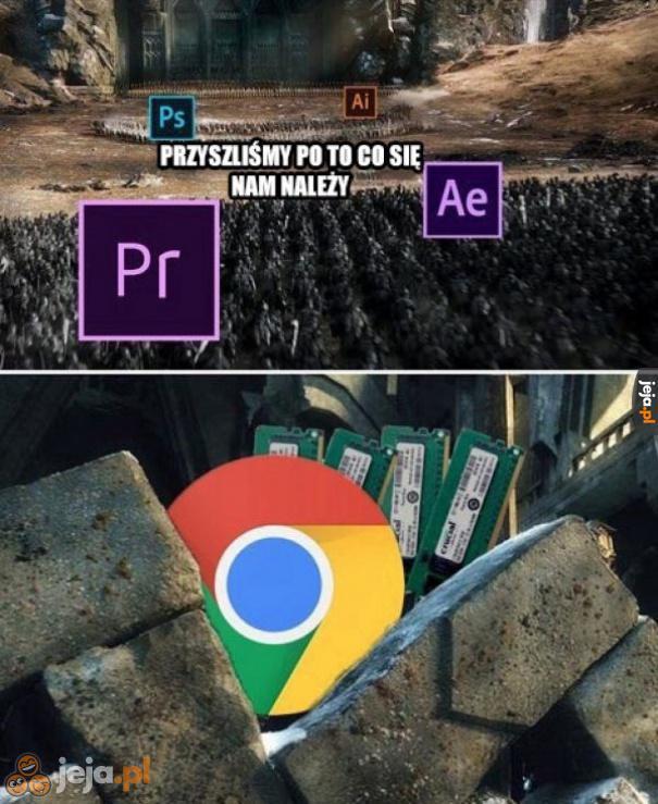 Gdzie pamięci są za RAM!?