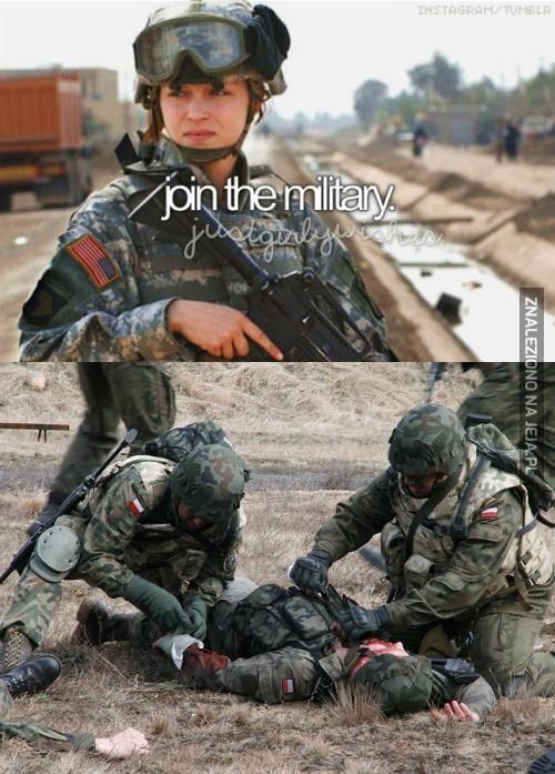 Dołączyć do armii