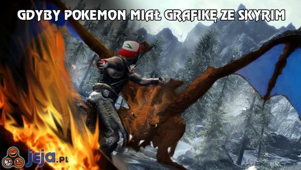 Gdyby Pokemon miał grafikę ze Skyrim