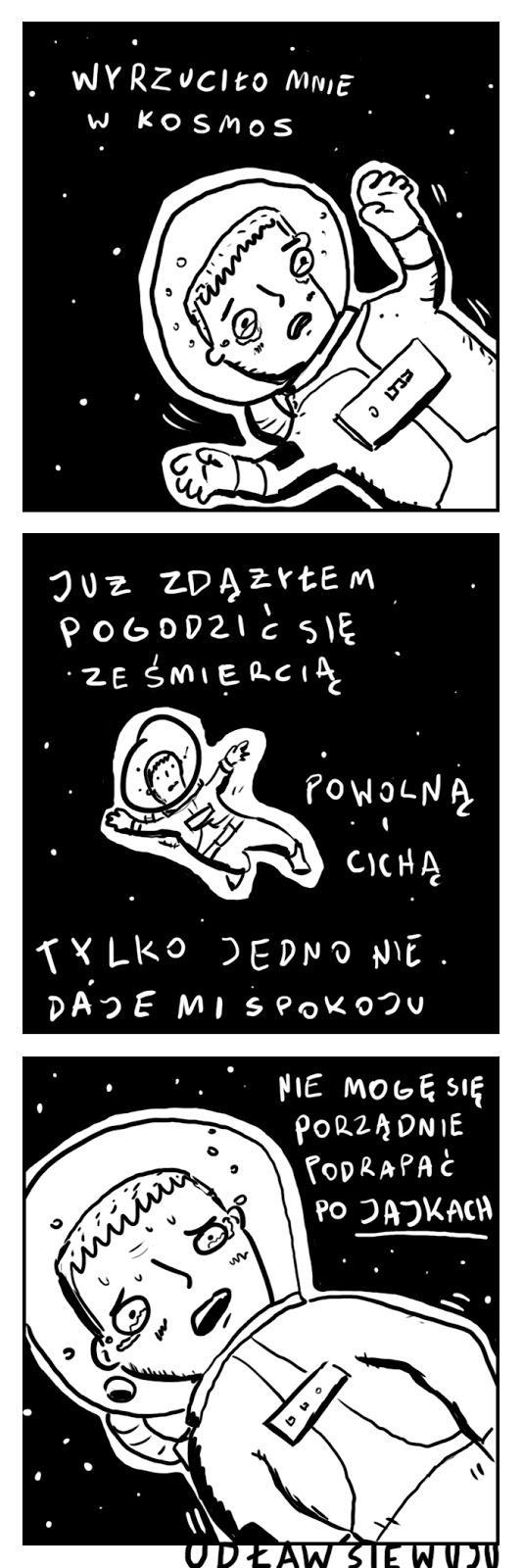 Wyrzucony w kosmos