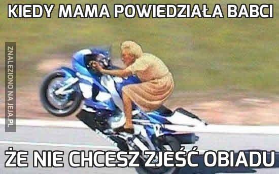 Kiedy mama powiedziała babci