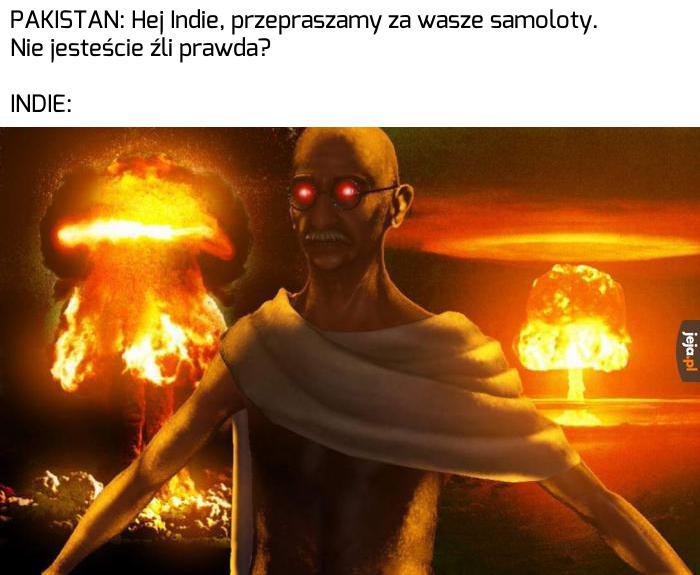 Ghandi szykuje rewanż