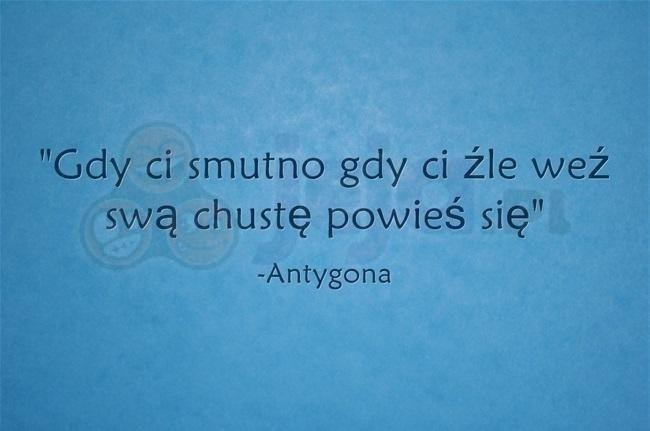 Mądrości Antygony