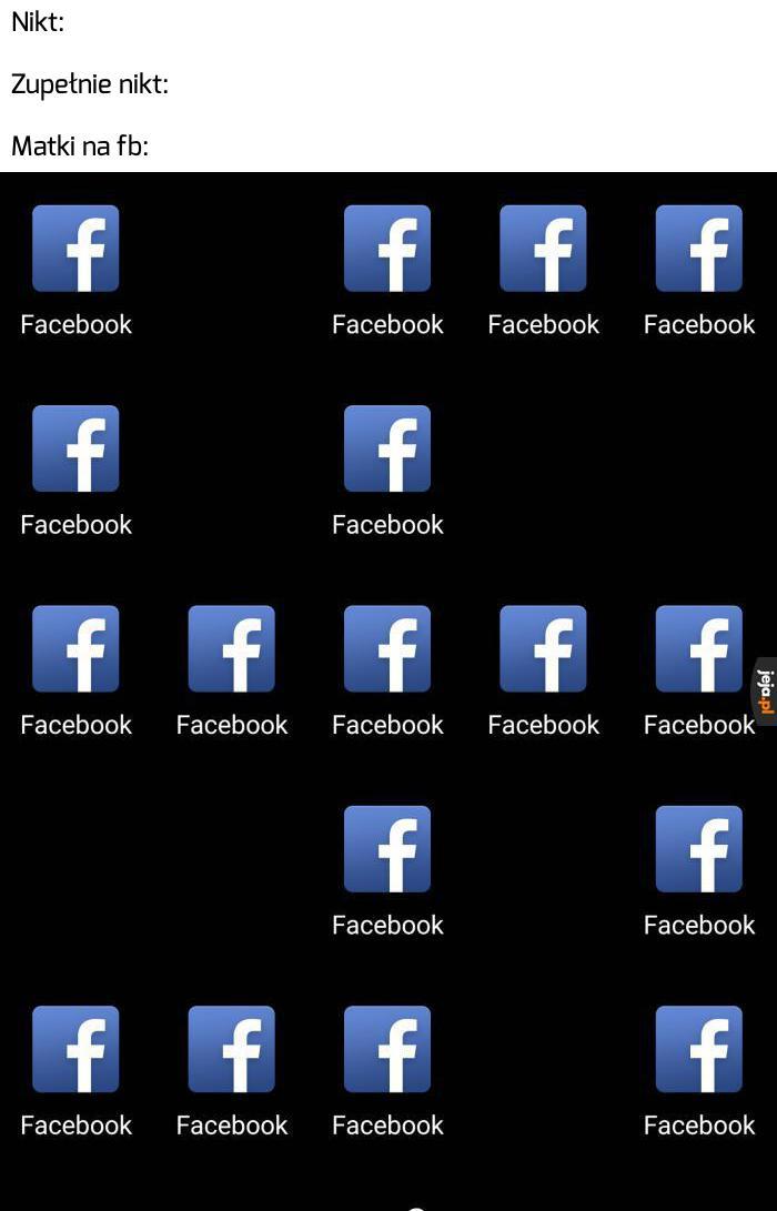 Wincyj fejsbuka!