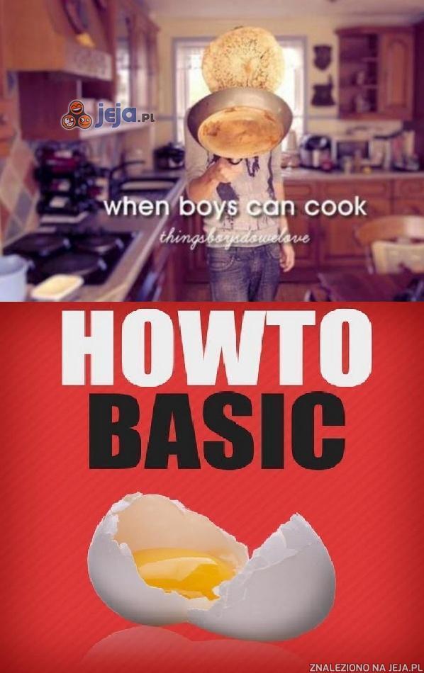 Kiedy chłopcy potrafią gotować