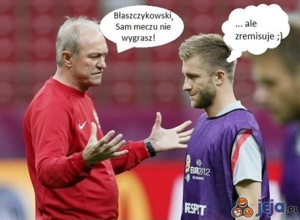 Trener do Błaszczykowskiego