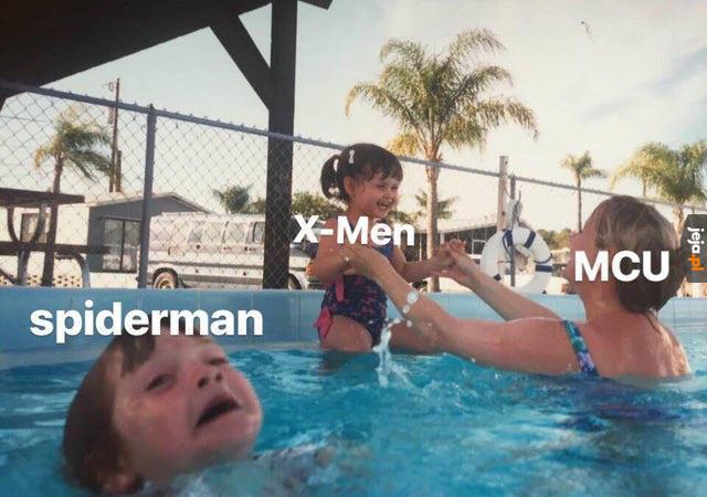 Gdzie dwóch się bije, tam Spiderman cierpi