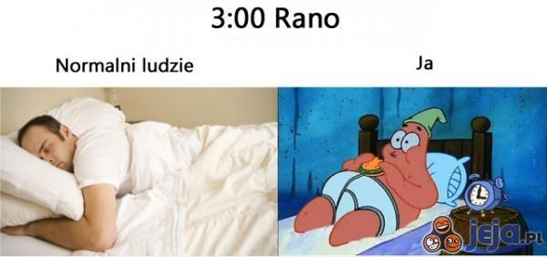 O 3 w nocy