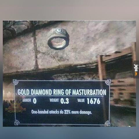 Ciekawe do kogo należał ten pierścień