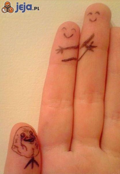Samotny kciuk