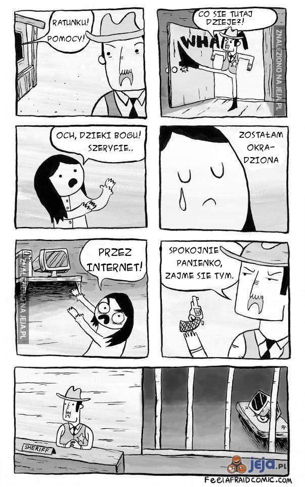 Problemy z Internetem