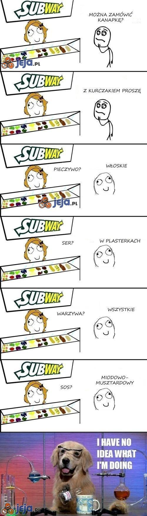 Kanapka w Subway'u