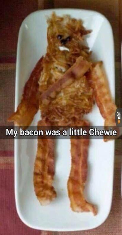 Bekonowy Chewbacca