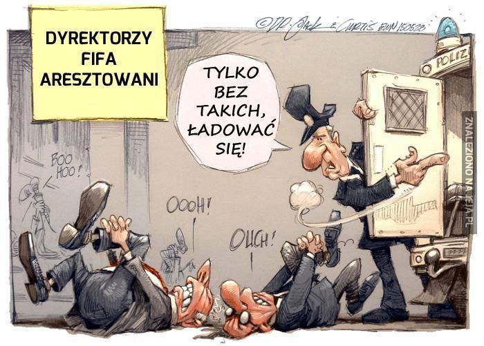 Tymczasem, w siedzibie FIFA...