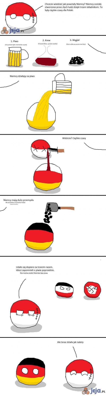 Jak powstały Niemcy