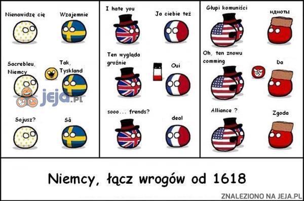 Niemcy jednoczą wrogów