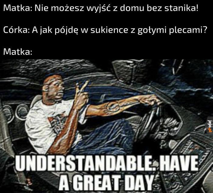 Mem inspirowany dniem dzisiejszym