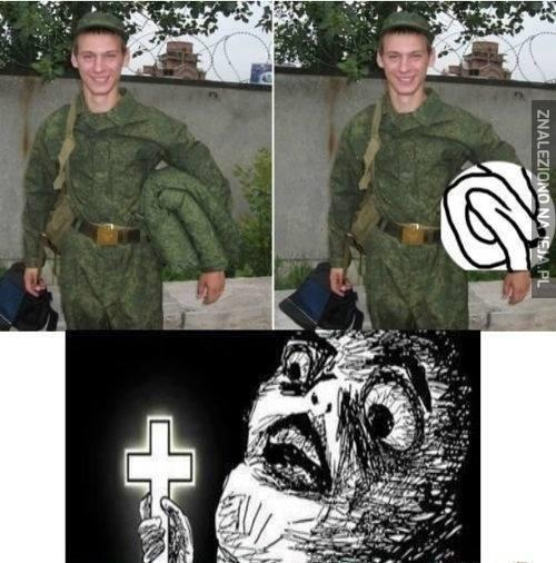Długa ręka żołnierza