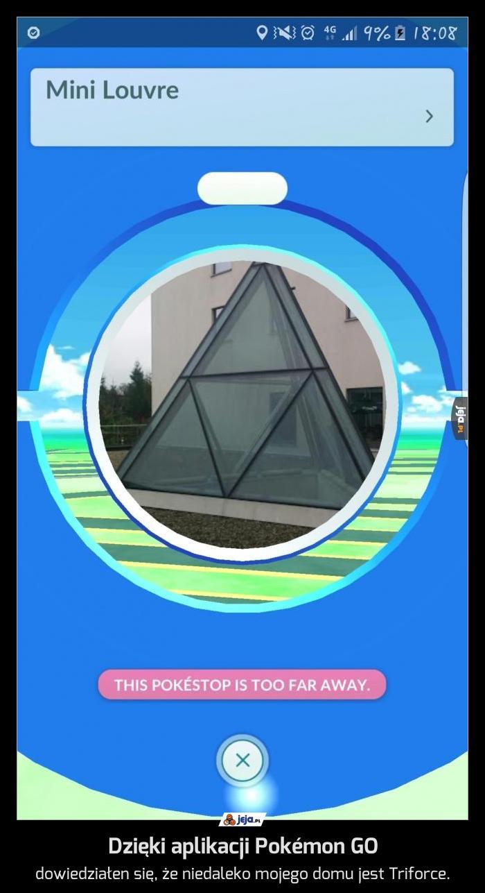 Dzięki aplikacji Pokémon GO