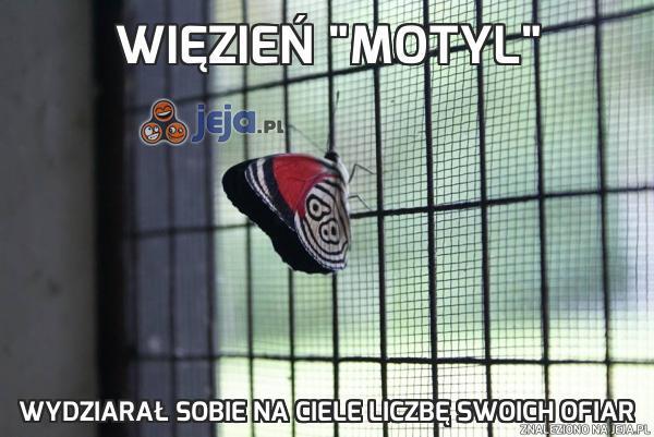 """Więzień """"Motyl"""""""