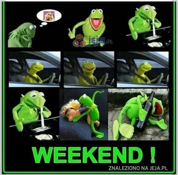 Weekend według Kermita