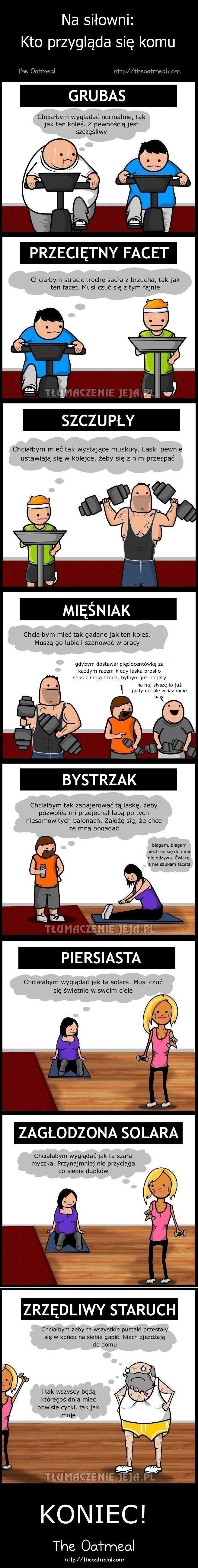 Przemyślenia na siłowni