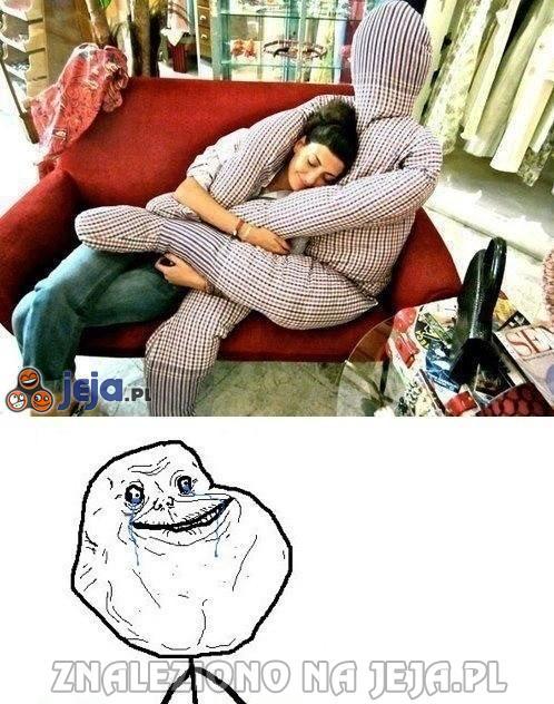 Poduszka dla samotnych