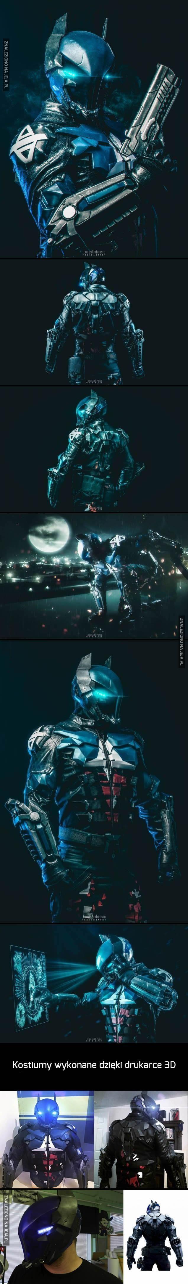 Inna wersja kostiumu Batmana