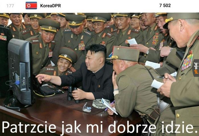 Ale dobry gracz z tego Kima