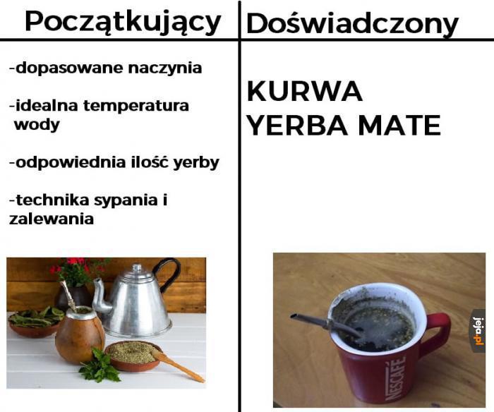 Yerba lepsza niż kawa