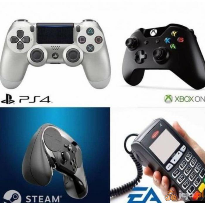 Kultowe kontrolery gier