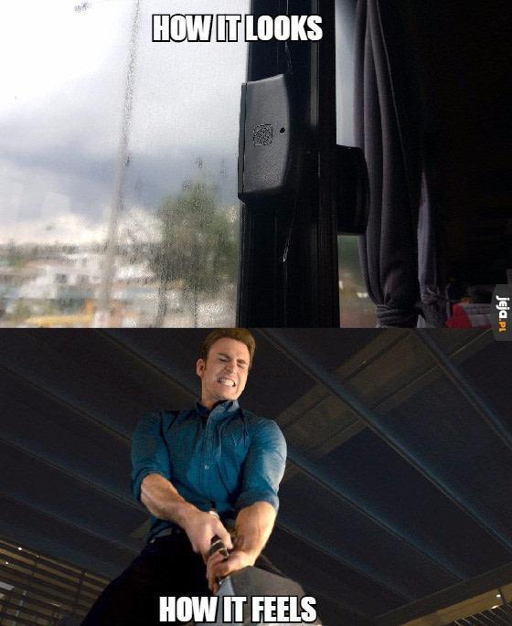 Okna w autobusach