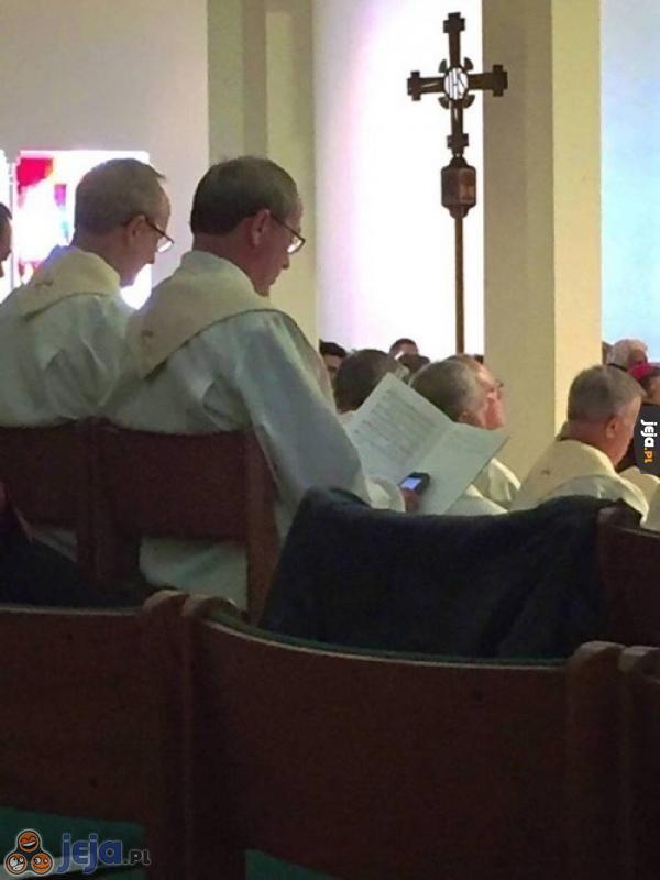 Kiedy nuda na mszy