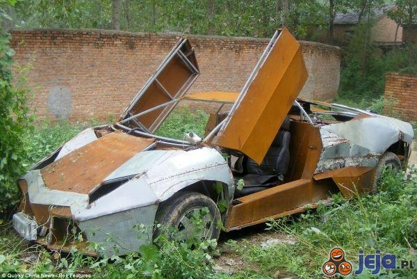 Lamborghini ze złomu