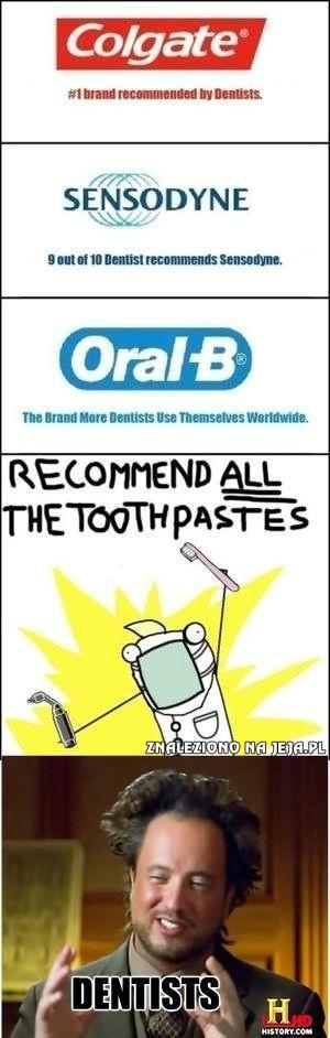 Ach, ci dentyści