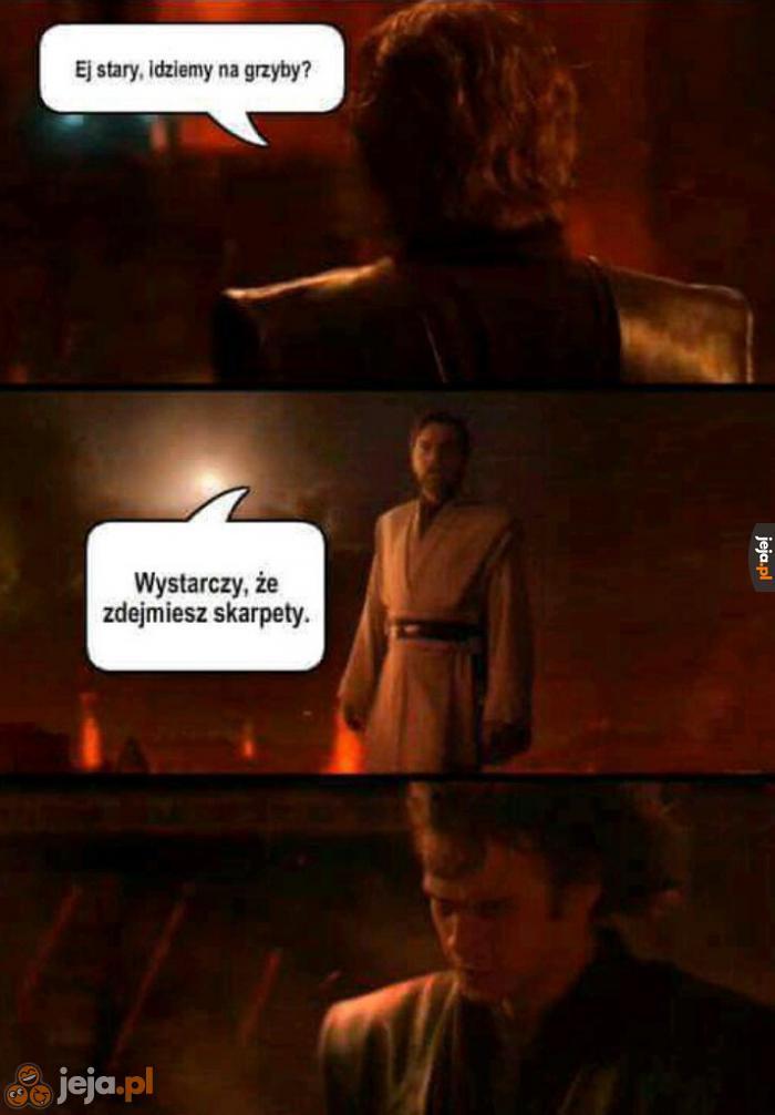 To starcie też wygrał Obi Wan