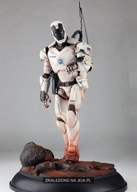 Iron man z NASA