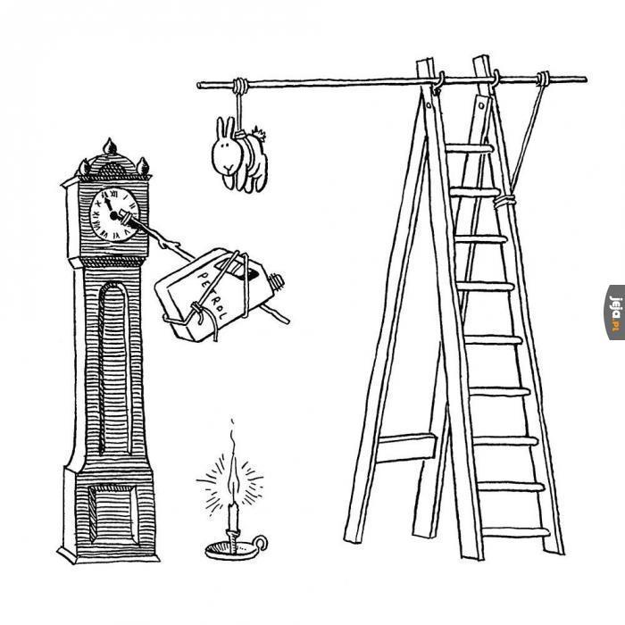 Samobójstwa zajączka: Zegar dziadka