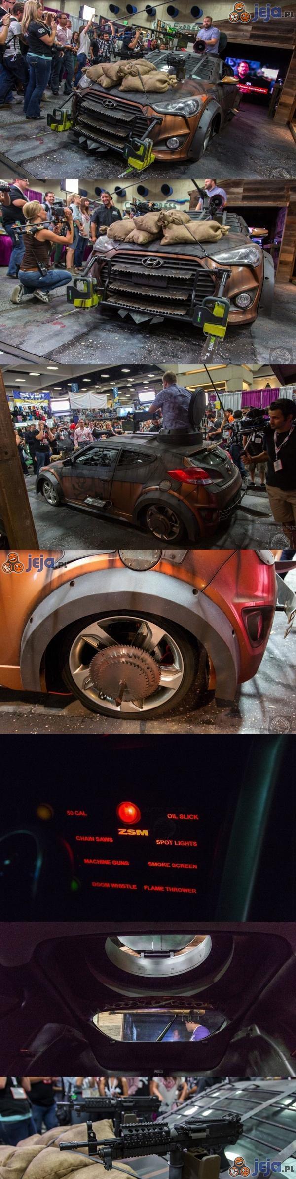 Samochód na zombie apokalipsę
