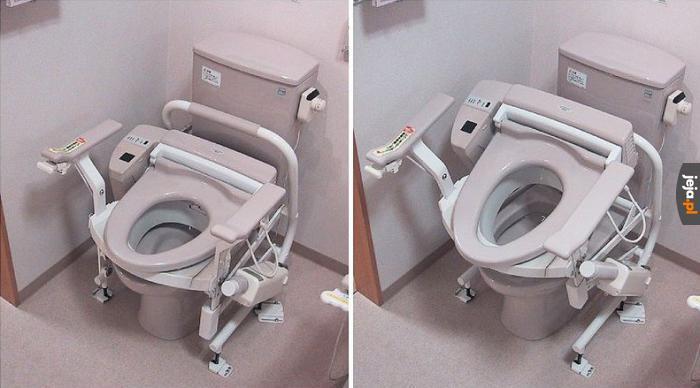 Toalety w Japonii wyglądają jak jakieś mechy