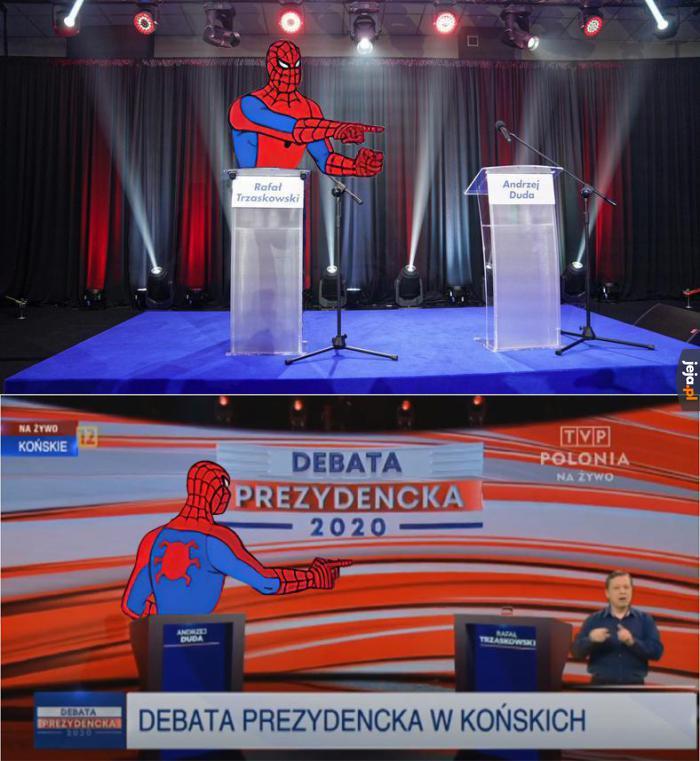 Debata w jednym memie