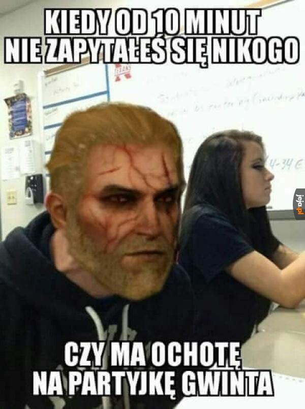 Geralt z Kasyna