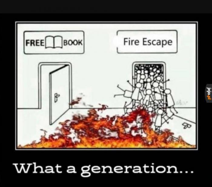 Co za generacja...