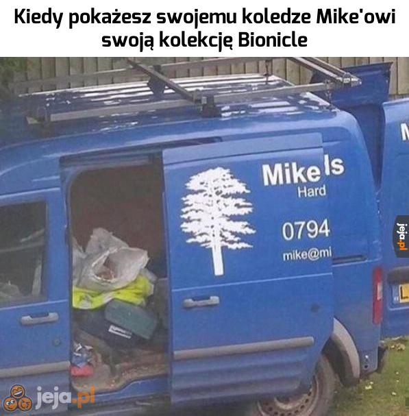 Mike wie, co dobre